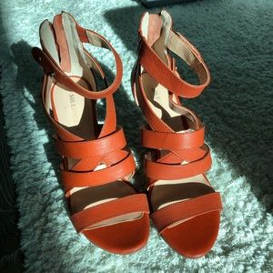 Sole Society Shoes - Sole Society - Leather sandals, Sz 7.5